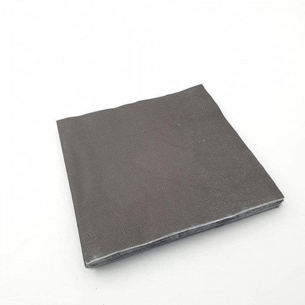 Serviette papier noire X20