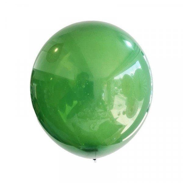 Ballons vert feuille (sachet de 24)