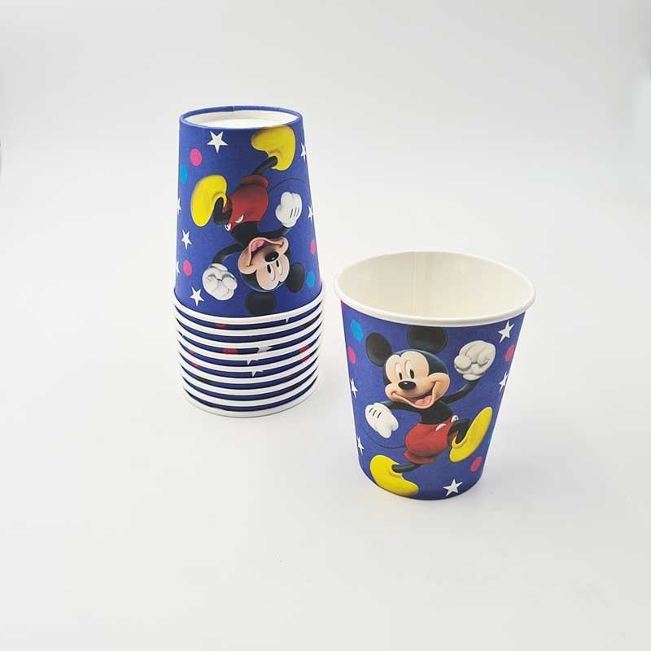 10 gobelets Mickey