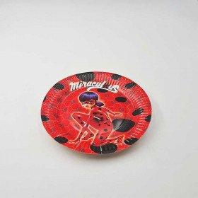 10 petites assiettes lady bug