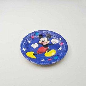 10 petites assiettes Mickey