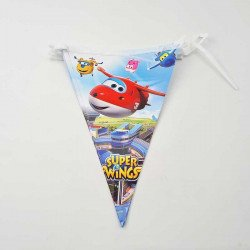 Guirlande fanion super wings