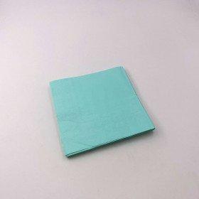 Serviette papier vert d'eau  X20