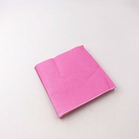 Serviette papier rose fushia  X20