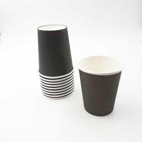 10 gobelets noir