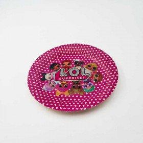 10 petites assiettes Lol surprise