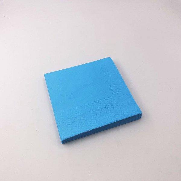 Serviette papier bleu  X20
