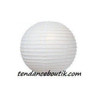Boule Lampion papier blanche 40cm