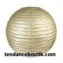 Boule Lampion papier or 30cm