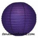 Boule Lampion papier violet 30cm