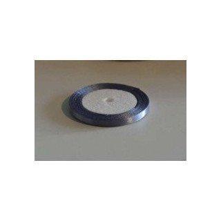 Ruban satin gris argent 0.6mmX20m