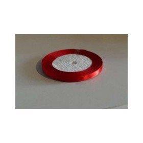 Ruban satin rouge 0.6mmX20m