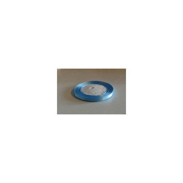 Ruban satin bleu turquoise 6mmX20m