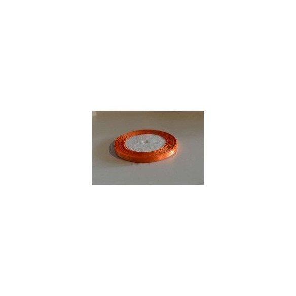 Ruban satin orange 6mm X20m