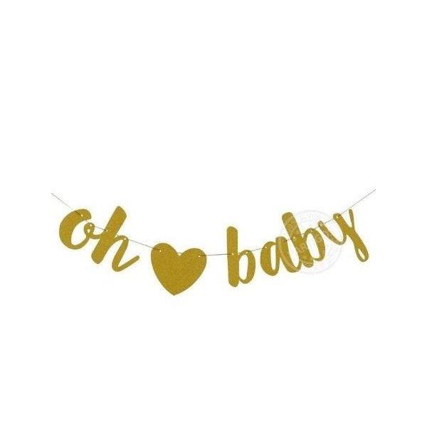 Guirlande oh baby or