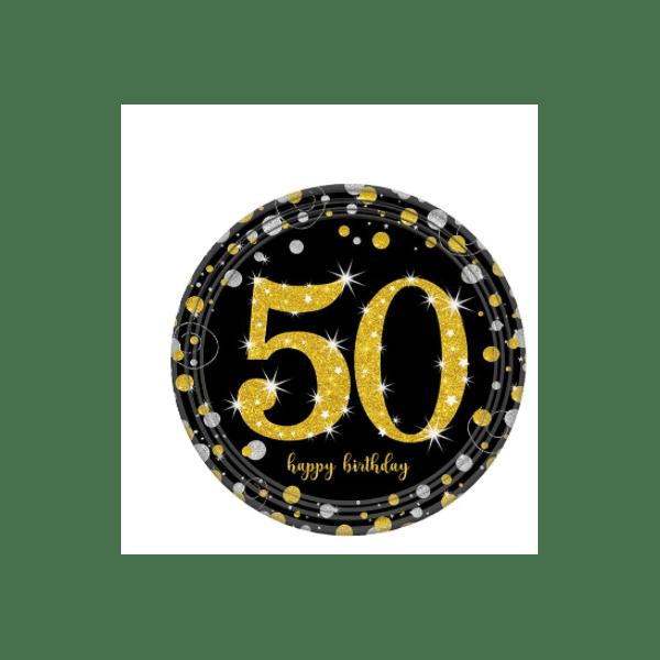 assiette anniversaire 50 ans