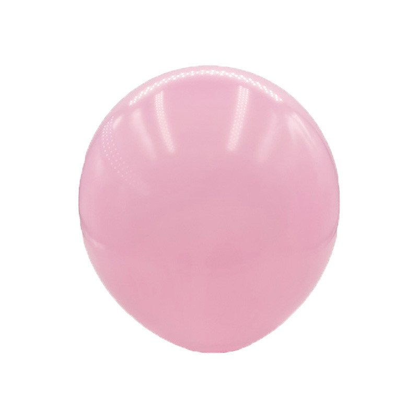 ballon rose pastel