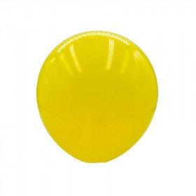 ballon latex jaune