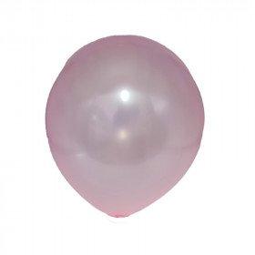 ballon nacré rose clair
