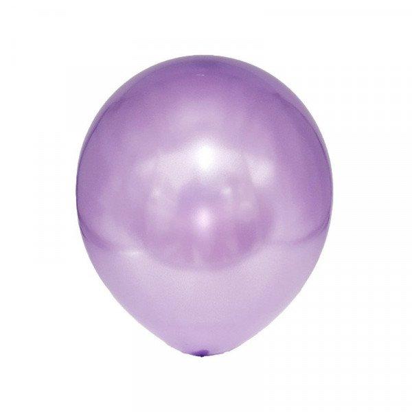 Sachet de 25 ballons violet de qualité