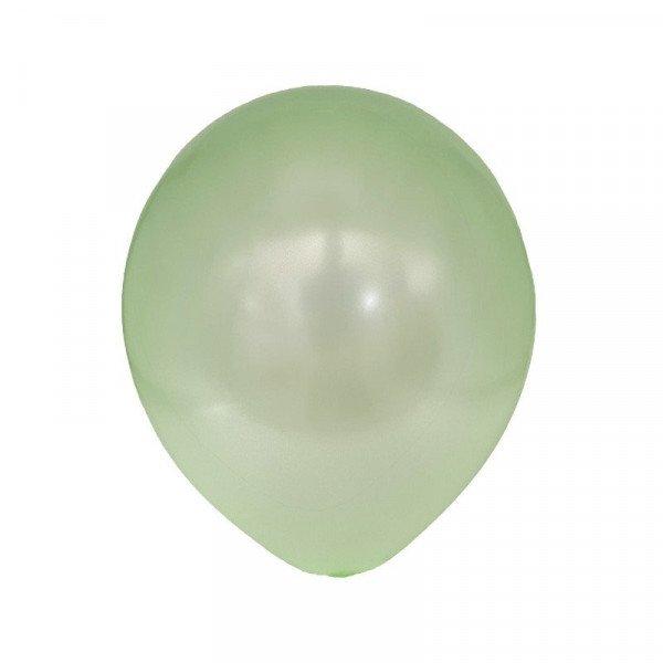 ballon nacré vert
