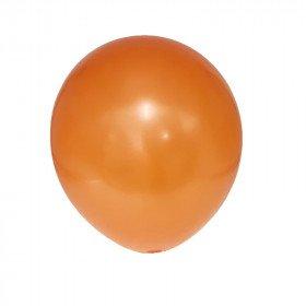 ballon orange nacré