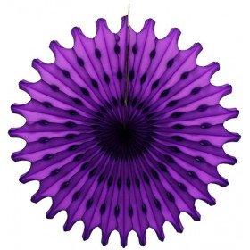 Rosace papier violet 50cm