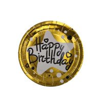 Assiettes or happy birthday