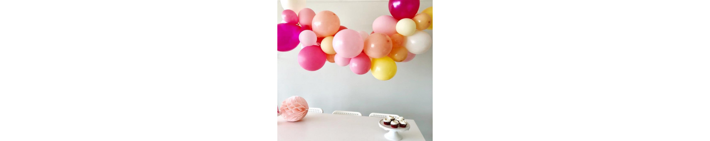 Ballons décoration anniversaire