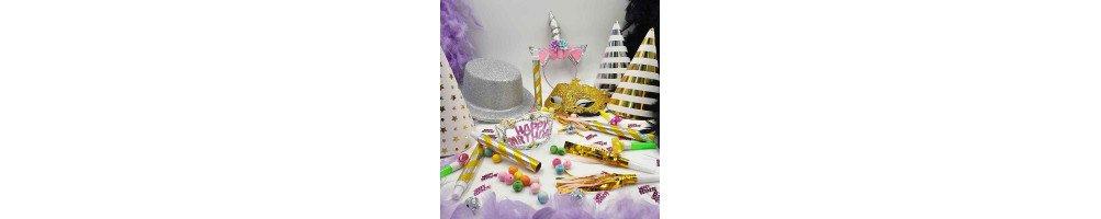 Accessoires, décoration fête d'anniversaire