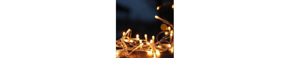 Décoration et guirlandes lumineuses LED