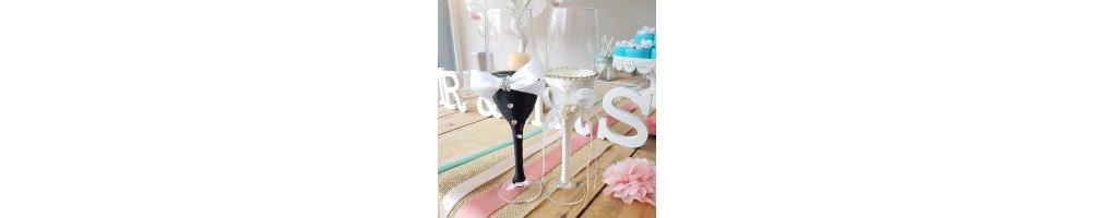 Flutes de champagne mariage