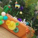 décoration anniversaire lama