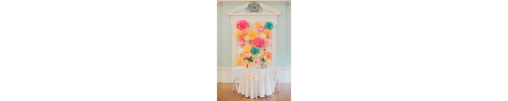 Décoration salle mariage extérieur