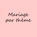 Décoration mariage par thème